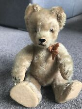 Wow Vintage 1950s Schuco Yes No Bear 8� Schuco Bear All Intact Tricky W/bow Nice