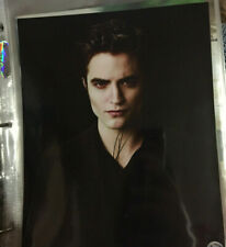 Robert Pattinson Autographed Edward Cullen Twilight New Moon Signed 8×10