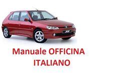 PEUGEOT 306 (1993/2002) Manuale Officina ITALIANO SU CD GTI