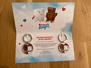 Kinderriegel Schlüsselanhänger Ferrero Milky & Schoki mit Karte