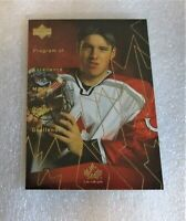 1999 Upper Deck PROGRAM OF EXCELLENCE MAX OUELLET Team Canada Card ROOKIE NM-M