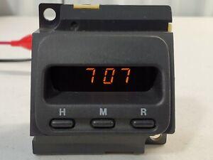 Honda CRV CR-V Digital Dash Clock Rebuilt 97-01. 1 Year Warranty!! With Plug!!