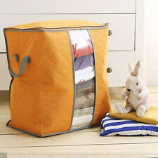 US Hot Sale Portable Storage Box Organizer Non Woven Underbed Pouch Storage Bag