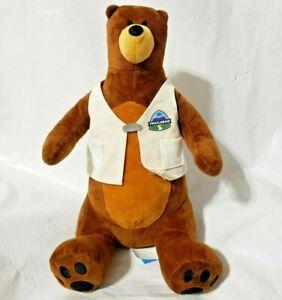 "Salesforce Dreamforce Trailhead Vest Codey Bear 13"" Plush Stuff Animal Soft Toy"