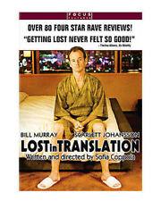 Lost in Translation (Dvd, 2004, Pan Scan)Bill Murray, Scarlett Johansson