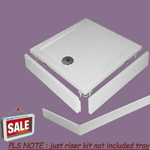 Riser Kit For Rectangle Square Shower Enclosure Tray 100mm Height Plinth