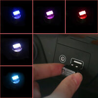 1x Mini USB LED Light Car Interior Light Neon Atmosphere Ambient Lamps 5color