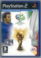 MONDIALI FIFA 2006 SONY PLAYSTATION 2 PS2 NO MANUALE OTTIMO USATO PAL