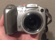 Canon PowerShot S2 IS Digital Camera w/ Flip Screen , Parts Or Repair