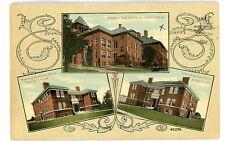 Freeport LI NY - MULTI-VIEW OF PUBLIC SCHOOLS - Postcard