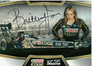 BRITTANY  FORCE   AUTOGRAPH 8  X  10