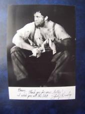 Shuler Hensley   - Autograph  (GC5)  5 x 7 inch