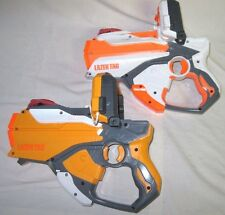 Set of 2 NERF LAZER TAG Pistols Sci Fi Cosplay Toy Guns Electronic Weapons