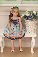 Rose Kelly beautiful girl summer dress-bestido para niñas sizes/tallas 2-5