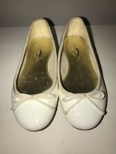 CREW CUTS J Crew Mary Jane LEATHER Italy Ballet Flats Toddler Girl Shoes Sz 9 #j
