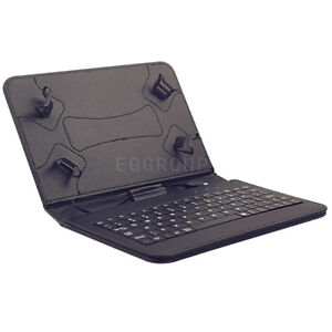 For Amazon Kindle Fire 7/HD 7 8 10 /HD 7 Leather Stand Case Cover WITH Keyboard