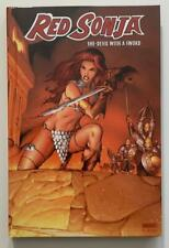 Red Sonja Hardcover vol #1 (Dynamite 2007) VF/NM issue.