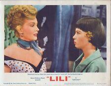 LESLIE CARON, Lili (R'64) Lobby Card #2, Zsa Zsa Gabor