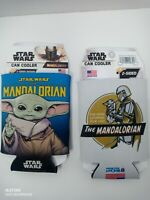 THE MANDALORIAN / STAR WARS Can-Bottle Coozies Set of 2