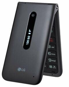 New LG Wine 2 LM-Y120QM LTE Flip Phone GSM/CDMA Unlocked AT&T T-Mobile Verizon