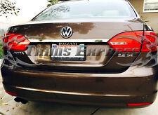 2011-2017 Volkswagen Jetta Rear Trunk Top Trim Accent Door Cover Stainless Steel