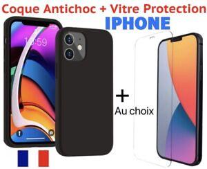 Custodia IPHONE 11 12 Professionista Max X XR 8 7 6 + Vetro Protezione Schermo