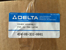 NOS Delta Cover Assembly for 46-700 series Lathes Plastic Head p/n 434083310001