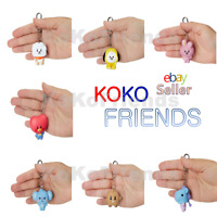 BTS BT21 Official Baby Character Figure Keyring Key Chain KPOP Authentic Item MD