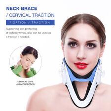 Adjustable Pillow Cervical Neck Pain Traction Soft Support Brace Device Tool AU