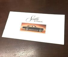 Cadillac 1976 SeVille Sales Brochure Catalog Data Specs Dealer Advertising