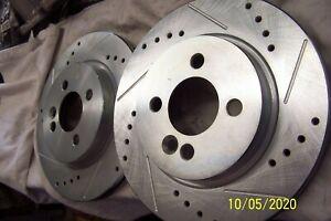 POWER STOP BRAKE ROTOR EBR 853 XL& XR (SET) MINI COOPER DRILLED & SLOTTED 276MM