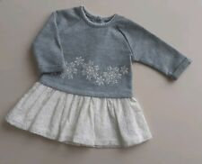 ***Fast delivery*** MATALAN Newborn Baby Girls Christmas Jumper Dress Snowflake
