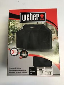 2016 Brand New Old Stock Weber 400 Series Genesis I&II Grill Cover Creased Box