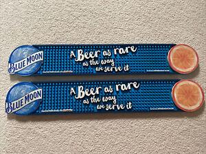 Blue Moon Drip Tray Rubber Place Mat Beer Cider Pub Bar mancave