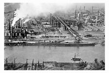 pt3058 - Clarence Iron and Steel Works , Middlesbrough , Yorkshire - photo 6x4
