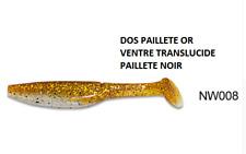 Noeby pêche leurre souple odorant Shad Minnow 15cm 27g couleur 8