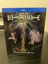 Death Note: The Complete Series (Blu-ray Disc, 2016, 5-Disc Set)