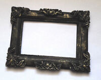 Gothic Photo Frame Black Classic Style Size 13x10сm 5.8x3.9in Worldwide Delivery