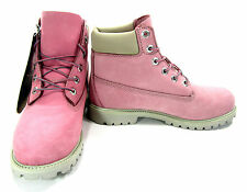 Timberland Shoes 6 Inch Premium Juniors Baby Pink Boots Men 7 Womens 9