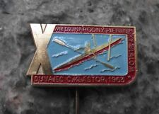 1963 International Canoe Kayak Whitewater Slalom Championships Slovak Pin Badge