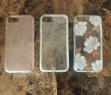 IPhone 7/8 Bundle Of 3 Phone Cases 1 Speck, 1 Casemate & 1 Sonia Pre-owned