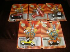 NEW ERTL DIE CAST METAL VEHICLES 5 BUGS BUNNY DAFFY DUCK ROAD RUNNER PORKY PIG