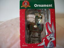 LOONEY TUNES CHRISTMAS ORNAMENT BUGS BUNY WITH CAMERA SITTING ON NOEL FILM