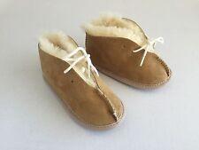 New Australia Lamb Sheepskin Baby Shoes 18 m.o. - 2 years, Beige Toddler Shoes
