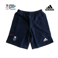 ADIDAS TEAM GB RIO OLYMPICS 2016  ELITE ATHLETE WOVEN SHORTS Size XS 26""