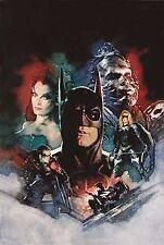 "Wbss ""Batman & Robin: The Cast"" Movie Lithoprint"