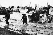 """WW2 - Les """"Maltais"""" des Royal Marines débarquent à Gold Beach"""