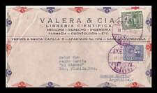 Venezuela: 1946; Cover commercial to Argentina, good values VE168*