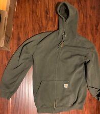 Carhartt 103868-472 Midweight Chest Graphic Full-Zip Hooded Sweatshirt
