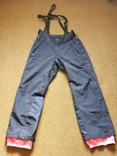 Vintage Retro Patagonia PowSlayer Bib Overalls Snow Ski Pants Women size 32